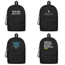 $enCountryForm.capitalKeyWord Australia - Hamilton woollen School Bag Backpack Girls boys Unisex High capacity high quality travel Gold medal seller design College Laptop for Art