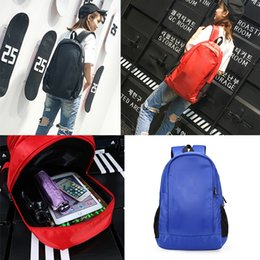 Discount backpack materials - Hot Designer backpack idas bagpacks Shoulder Bags Youth sport Mens Womens material outdoor travelling student Fashion ca