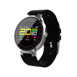 L8 Smart Watch Fitness IP68 Water-resist Color Screen Tracker Watch Sports Pedometer Wristband Color Touch Intelligent Control In Life on Sale