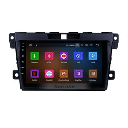 mazda car dvd gps navigation UK - 9 inch Android 9.0 Touchscreen Car Multimedia Player for 2007-2014 Mazda CX-7 with Bluetooth WIFI GPS Navigation support Rear Camera car dvd