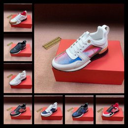 sneakers uomo NZ - 2019 Mens Shoes Sneakers Sports Breathable Footwears Luxury Scarpe da uomo Hot Cross Chainer Sneakers Fashion Shoes for Men Lace Up Footwear