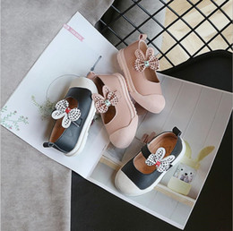 korean baby flowers NZ - Girls shoes princess shoes spring and autumn 2019 new children's shoes Korean version of the soft air baby single