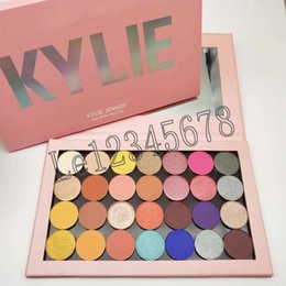 Kylie eyeshadow online shopping - 2018 Newest kylie One Open Eyeshadow Palette Empty Large Pro palette colors single shadows shimmer matte and satin shadows