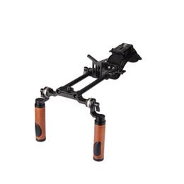 $enCountryForm.capitalKeyWord UK - CAMVATE Pro Camcorder Shoulder Rig With Manfrotto QR Base Plate ARRI Rosette Dual Handgrip C2064