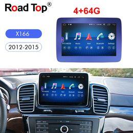 Wifi head unit online shopping - 4G G inch Car Radio GPS Navigation Bluetooth WiFi Head Unit Screen for Mercedes GL Class X166