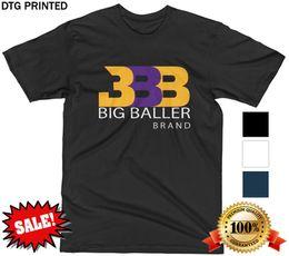 d1d478ebb BBB T SHIRT LONZO LAVAR MELO LA LAKERS Z02 WHITE BLACK NAVY MENS S-XXL NEW!  2018 New Tee Print Men T-Shirt Tops Hip Hop Short T Shirt