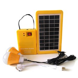 $enCountryForm.capitalKeyWord Australia - Portable Home Outdoor Small DC Solar Panels Charging Generator Power Generation System 4.5Ah   6V Lead-acid Batteries Energy LED