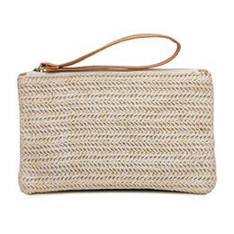 $enCountryForm.capitalKeyWord Australia - Women Straw HandBag Portable Travel Bohemian Clutch Packet Summer Beach Weaving Hand Pouch Casual Female Shoulder Bag