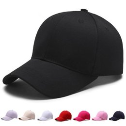 4eaca6f4059a6 Uv baseball hats online shopping - Spring Solid Cap Summer Cotton Baseball  Hats Sun Hats Girl