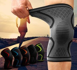 $enCountryForm.capitalKeyWord Australia - Free DHL Breathable Sleeve Non-slip Silicone Sports Knee Pads Support for Running,Cycling,Basketball,Arthritis Injury Recovery Kneepad M425F
