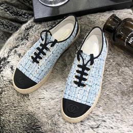 $enCountryForm.capitalKeyWord Australia - Summer new high quality ladies shoes retro ethnic style new straw rope lace embroidery fisherman shoes casual fashion canvas linen ladies qf