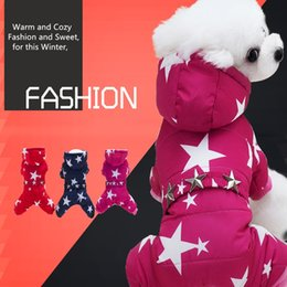 $enCountryForm.capitalKeyWord Australia - Winter Puppy Small Dog Coats for Small Dogs Pet Cute Warm Fleece Padded Pet Clothes Apparel Clothing for Pomerania Poodles French Bulldog