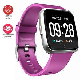 Smartwatch Camera Heart UK - 1.3 Inch Touch Screen Smart Watch IP67 Waterproof Sport Bracelet Motion Record Blood Pressure Heart Rate Monitor Smartwatch For IOS Andriod