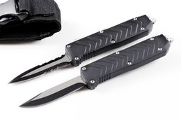 tactical knives 2019 - new arrrival BMautoTF F121 7 inch 2 models double action tactical camping hunting automatic knives xmas gift knife cheap