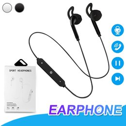 s6 earphones packages 2019 - For Samsung S6 Bluetooth Headphones Wireless Headset In-ear Earphones With Mic Volume Control 3.5mm Wireless Earbuds For