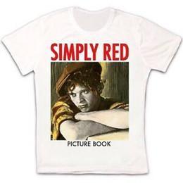 $enCountryForm.capitalKeyWord UK - Simply Red Picture Book 85 MiPrint HuPrintnall Pop Seal Sade Retro Unisex T Shirt 51