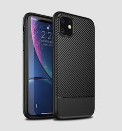 $enCountryForm.capitalKeyWord Australia - Wholesale 2019 New Iphone11 Cellphone Case IPhone11 Max Mobile Phone Case IPhoneXR Carbon Fiber Pattern Shatter-resistant Soft Case
