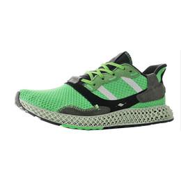 $enCountryForm.capitalKeyWord Australia - Big Discount Futurecraft 4D athletic shoes man Original shoes men runner shoes ZX 4000 4D soccer ballvarious color ZX 4000 US 7.5-11.5