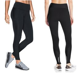 3843d423e3d S-XXL Women Stretchy Leggings U A Sports Jogging YOGA Pants High Waist  Skinny Tights Amour Push Up GYM Workout Trousers Track Pants C42305