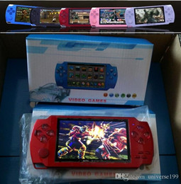 PmP mP5 mP4 games online shopping - 4 Inch PMP Handheld Game Player MP3 MP4 MP5 Player Video FM Camera Portable GB Game Console dhlFree