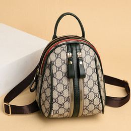 2020 New-Bag-Style Womens Shoulder Bag Mini Backpack Fashion Western Style Summer Students on Sale
