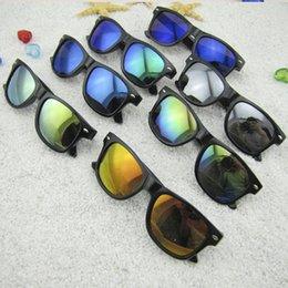 Venta al por mayor de Gafas de sol para niños relective espejo gafas de sol para niños niños uv400 Retro gafas de sol de moda para niños gafas de verano 500 unids AAA1824