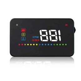 """Discount universal car speedometer - 3.5"""" Car Universal HUD A200 Head Up Display Auto OBD2 II EUOBD Overspeed Warning System Projector Windscreen Voltag"""