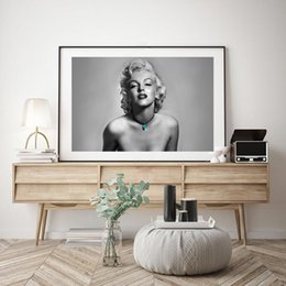 $enCountryForm.capitalKeyWord NZ - Marilyn Monroe HD Quote Minimalist Wall Art Canvas Posters Prints Painting Wall Pictures Office Living Room Home Decor Artwork