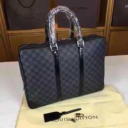 Designer men briefcase online shopping - new arrival fashion designer quot laptop bag cross body shoulder notebook business briefcase computer bag with men Messenger bag