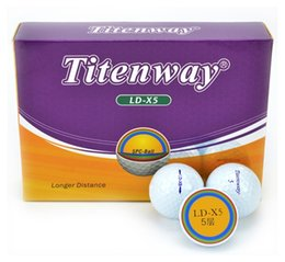 5 Layer Golf Championship Ball High Elastic Ball Can Be Customized Wholesale on Sale