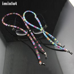 Sunglasses Straps Cords NZ - Imixlot 75cm Round Rope Sunglasses Neck Cord Strap Eyeglass String Chain Lanyard Holder