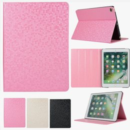 Wholesale Bling Flip Leather Tablet Magnet Case For iPad For iPad Stand Cover Skin For iPad Air