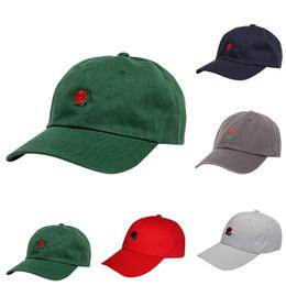 cb582c89212 hat baseball capball cap Rose Embroidered Dad Hat Women Men Cute Adjustable Cotton  Floral Baseball Cap Summer Gorra Casquette