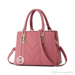 $enCountryForm.capitalKeyWord UK - Women's Vintage Leather Tote Shoulder Bag for Women Crossbody Bags Ladies Designer Purse Black Red Grey Khaki Pink Purple