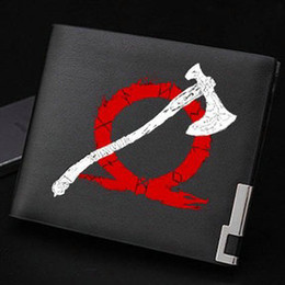 games credit Australia - Axe leviathan wallet God of war purse The game awards short cash note case Money notecase Leather burse bag Card holders