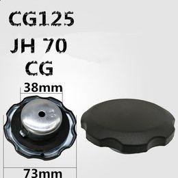 1 ADET CG125 JH70 vintage motosiklet yakıt deposu kilidi yakıt deposu kapağı CG JH70 CG125 için mat motosiklet yakıt deposu kapağı indirimde