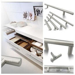 Search For Flights Vintage Chrome Plated Metal T-handles Drawer Or Cabinet Architectural & Garden Closet Door Pulls