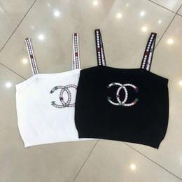 6dea4df80bbb37 Canotta sexy a rete Top Donna Summer Summer Scava fuori Cool Top Camisole T- shirt bianche e nere