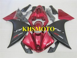 $enCountryForm.capitalKeyWord Canada - Injection mold Fairing kit for YAMAHA YZFR1 09 10 11 12 YZF R1 2009 2012 YZF1000 ABS Red black Fairings set+Gifts YG08