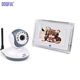 """Digital Security Systems NZ - 7"""" Wireless Digital 2.4GHZ Baby Monitor Nanny Babies Nurse Night Vision Video Audio Babysitter 2 Way Talk Baby Security System"""
