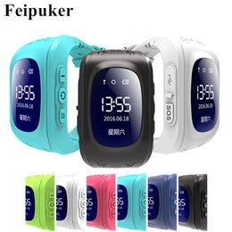 Gsm Gprs Gps Australia - HOT Smart watch Children Kid Wristwatch Q50 GSM GPRS GPS Locator Tracker Anti-Lost Smartwatch Child Guard for iOS Android