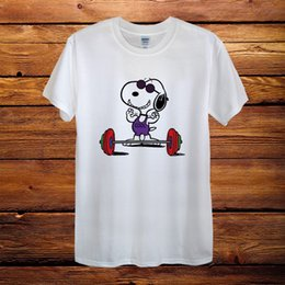 $enCountryForm.capitalKeyWord NZ - Sport Man Snoopy Dog Peanuts Gift Fun Top Design T-Shirt Men Unisex Women Fitted 2018 Hot Summer Hipster O-Neck Casual Short