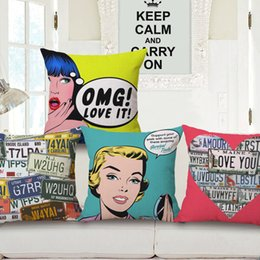 $enCountryForm.capitalKeyWord Australia - Popp Wind Cotton And Linen Pillow Case Originality Decoration Cushion Set Come Picture Customized Fashion Sample Between By Pillow Case
