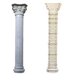 Wholesale ABS plastic roman concrete column moulds Multiple styles european pillar mould construction moulds for garden villa home house