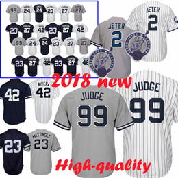 529e970ccdfc 99 Aaron Judge Yankees Jersey New York Béisbol 25 Torres 3 Ruth 7 Manto 23  Mattingly 42 Rivera Jerseys
