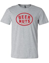 caaf79c43d21 New Nwt Beer Nuts Logo Brand Snacks Gray T-Shirt