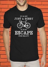 Cycling Cyclist Australia - Bike Bicycle Cycling My Escape From Reality Hobby Funny Slogan Cyclist T shirt