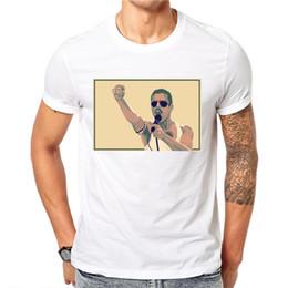 Originals T Shirts NZ - good quality Freddie Mercury T Shirt 2019 New Men Original Designcasual O-neck Short Sleeve T-shirt Saint Anthony Tshirt Men Clothing