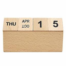 Wooden Perpetual Calendar Nz Buy New Wooden Perpetual Calendar