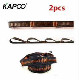 Wholesale 2pcs Air Yoga Hammock Extension Belt Daisy Rope High Strength Climbing Safety Rope Suspenders Straps cm Length